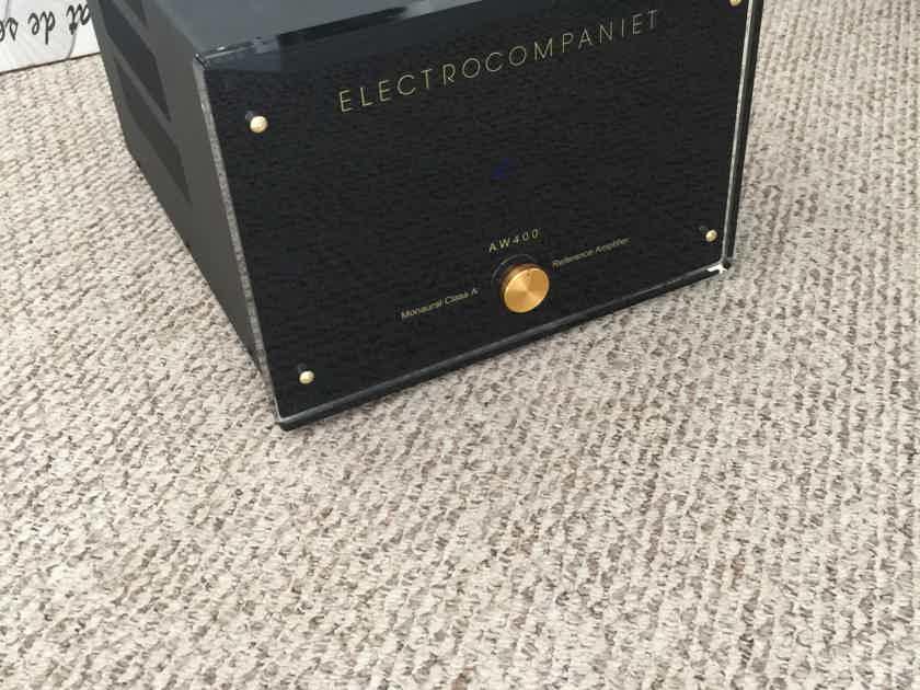 Electrocompaniet AW-400 Monoblok Amplifier Pair