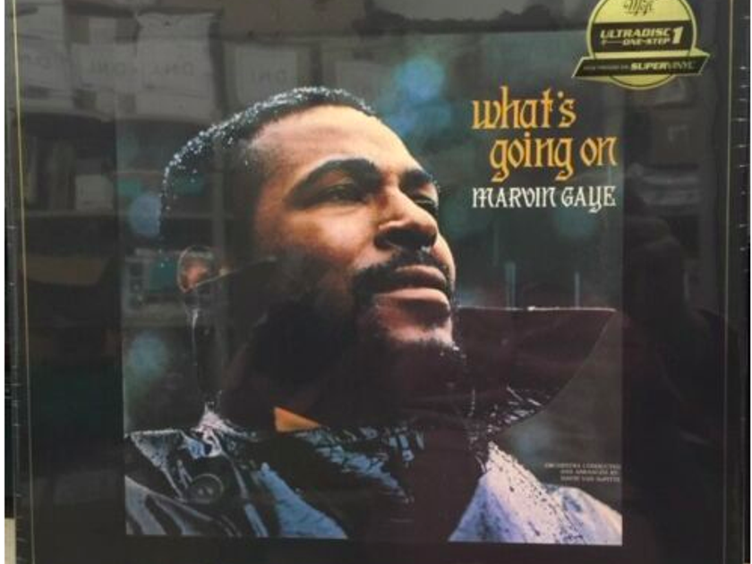 """Marvin Gaye What's Going On - MFSL One Step Ultradisc - 2 × Vinyl, 12"""", 45 RPM, Album, Limited Edition, Numbered, Reissue, 180 Gram, SuperVinyl  Box Set"""