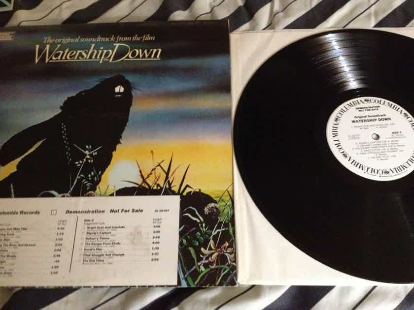Soundtrack - Watership Down Art Garfunkel White Label Promo LP NM 1A Stampers Both Sides