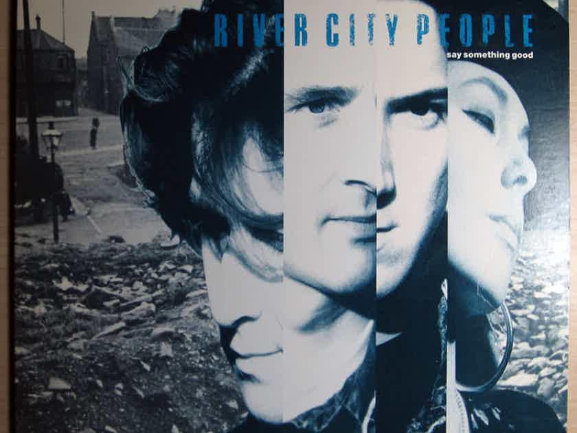 River City People - Say Something Good 1989 NM- Vinyl LP  Capitol Records C1-92655