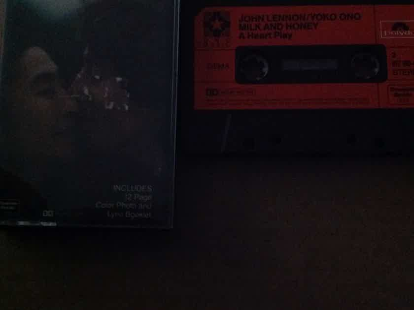 John Lennon/Yoko Ono - Milk And Honey Polydor Records Pre Recorded Cassette