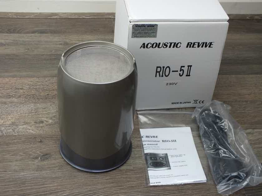 Acoustic Revive RIO-5II Negative ION Generator BRAND NEW