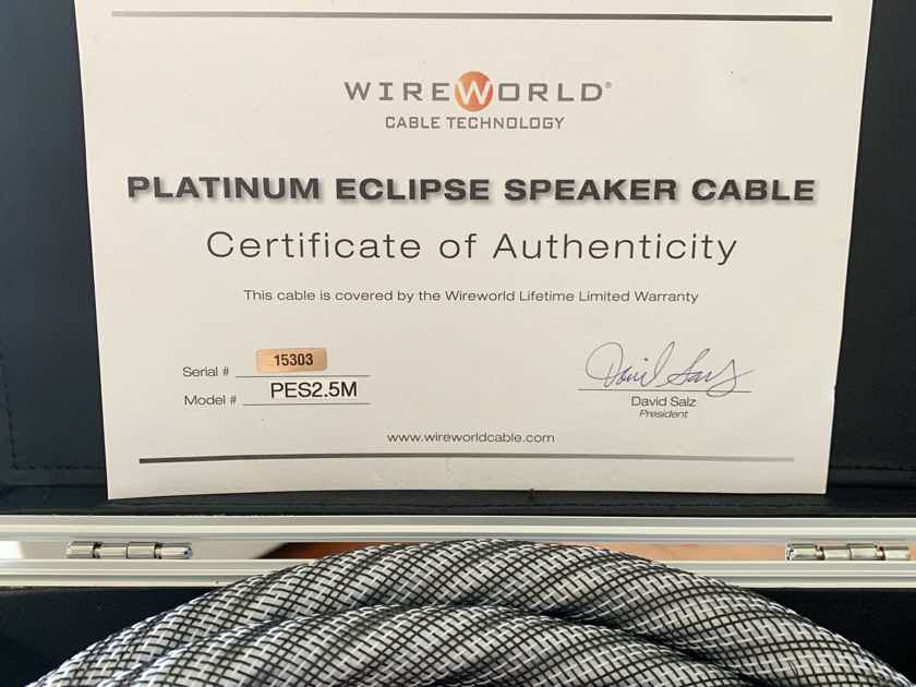 Wireworld Platinum Eclipse 8 Speaker Cable