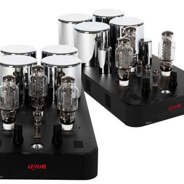 AYON AUDIO TITAN EVO MONO AMPS - PURE CLASS A SET 160 W...