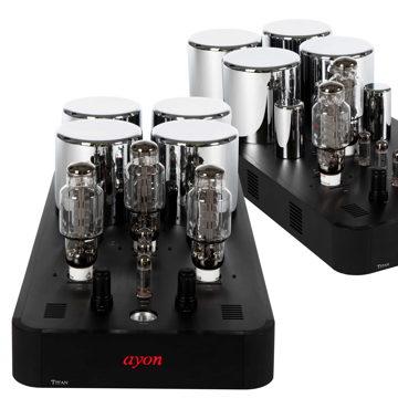 AYON AUDIO TITAN EVO MONO AMPS - PURE CLASS A SET 160 W...