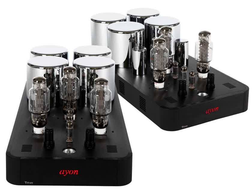Ayon Audio Titan Mono Amps 150 Watts AWARD WINNING 8 YEARS RUNNING