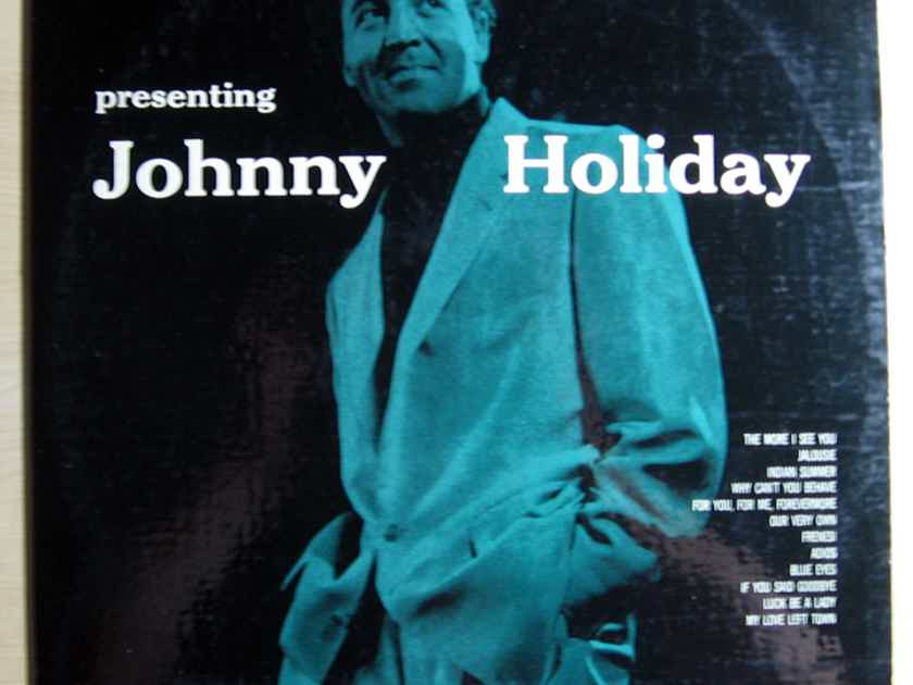 Johnny Holiday - Presenting Johnny Holiday - 1956 Mono Kapp Records KL-1029