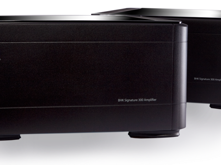 PS Audio  BHK Signature 300 series system BLACK PAIR LNIB NEVER OPENED WARRANTY!
