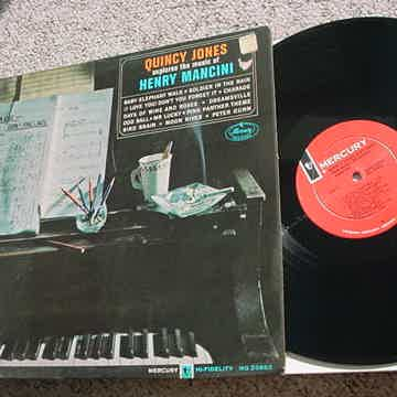 jazz Quincy Jones lp record Explores the music of Henry Mancini