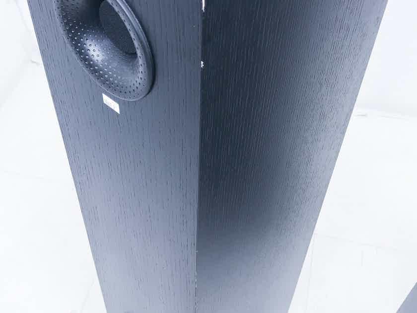 B&W CM4 Floorstanding Speakers Bowers & Wilkins; Pair Black; CM-4 (AS-IS) (3861)