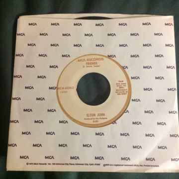 Elton John - Friends/Honey Roll 45 Single Vinyl  NM MCA...