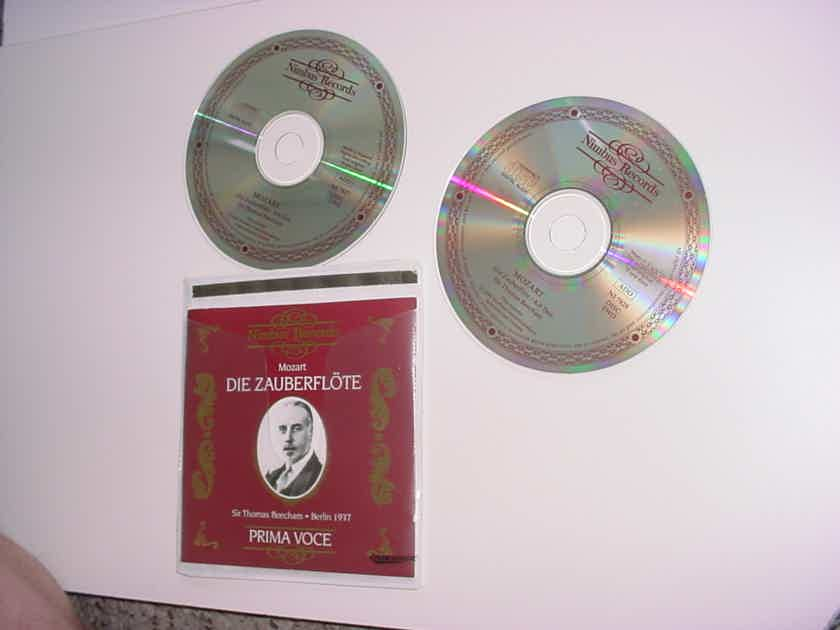 MOZART Die Zauberflote double cd set 1999 UK Nimbus NI 7827/8