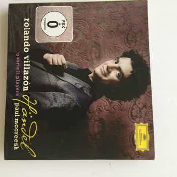 Rolando Villazon Handel Deutsche Grammophon  Cd DVD set...