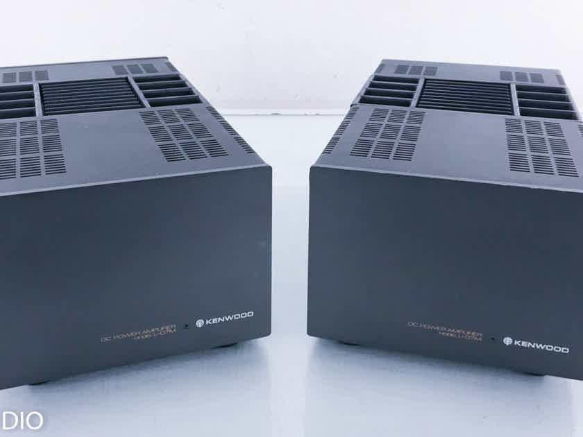 Kenwood L-07M Mono Power Amplifier Vintage Pair; L07M (14890)