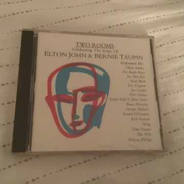 Elton John Bernie Taupin Sealed Compact Disc  Two Rooms