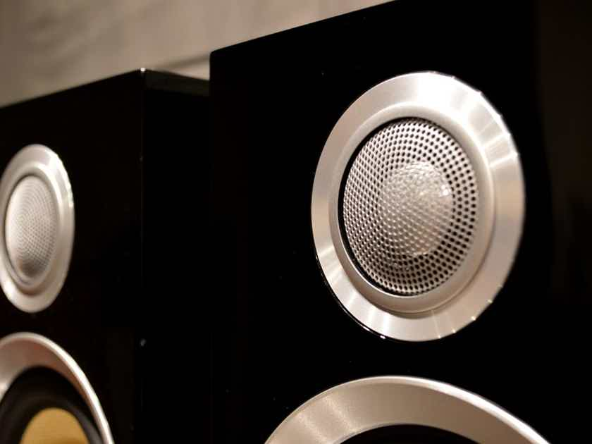 B&W (Bowers & Wilkins) CM1 S2 Monitors - Gloss Black
