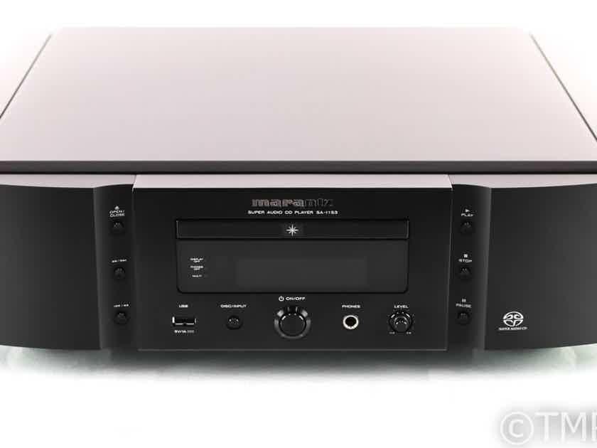 Marantz SA-11S3 CD / SACD Player; SA11S3; Remote (No USB Input) (26779)