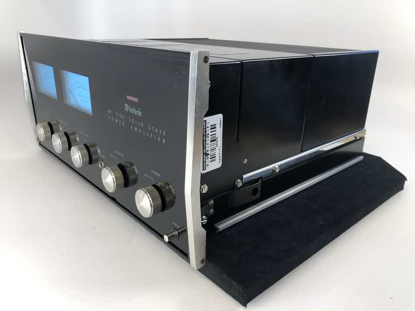 McIntosh MC2105 Solid State Vintage Amplifier - RESTORED, UPGRADED, PERFECT