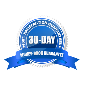 No questions asked 30-day Money Back Guarantee