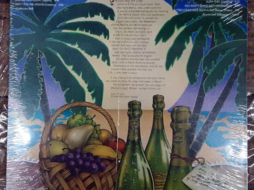 April Wine - Live At The El Mocambo 1977 MINT SEALED Vinyl LP London Records PS 699