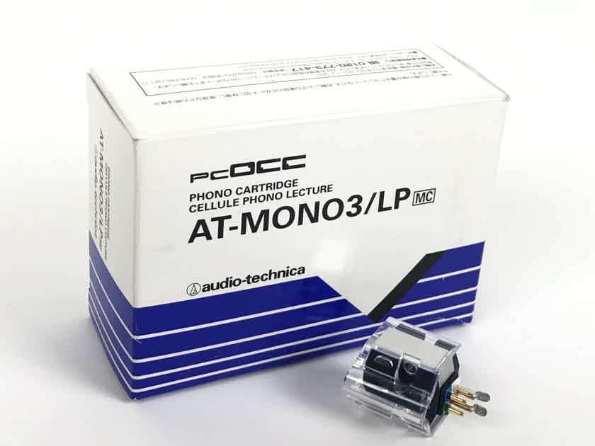 Audio Technica AT-MONO3/LP MC Moving Coil Type MONO Cartridge NEVER USED!
