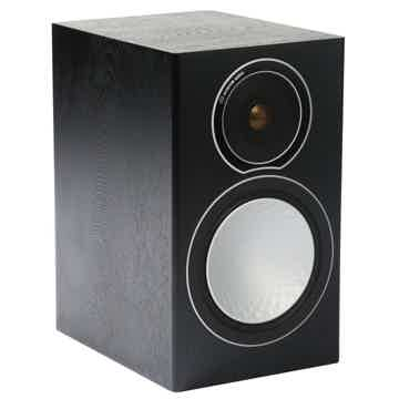 Silver 1 Bookshelf Speakers: