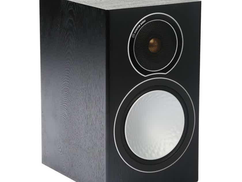 Monitor Audio Silver 1 Bookshelf Speakers: Brand New-in-Box; 5 Yr. Warranty; 45% Off; Free Shipping