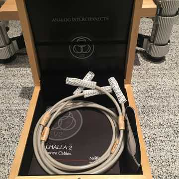 Valhalla 2 interconnect XLR 2 meter