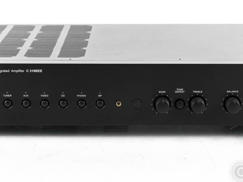 NAD C316BEE V2 Stereo Integrated Amplifier; MM Phono (22676)