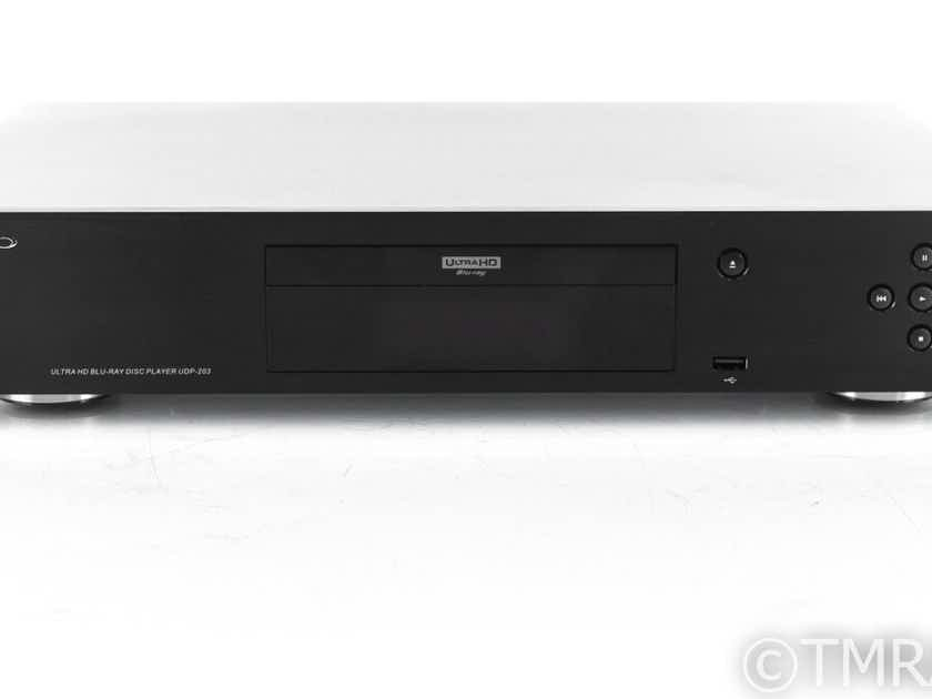 Oppo UDP-203 Universal Blu-Ray Player; UDP203; Remote (21031)