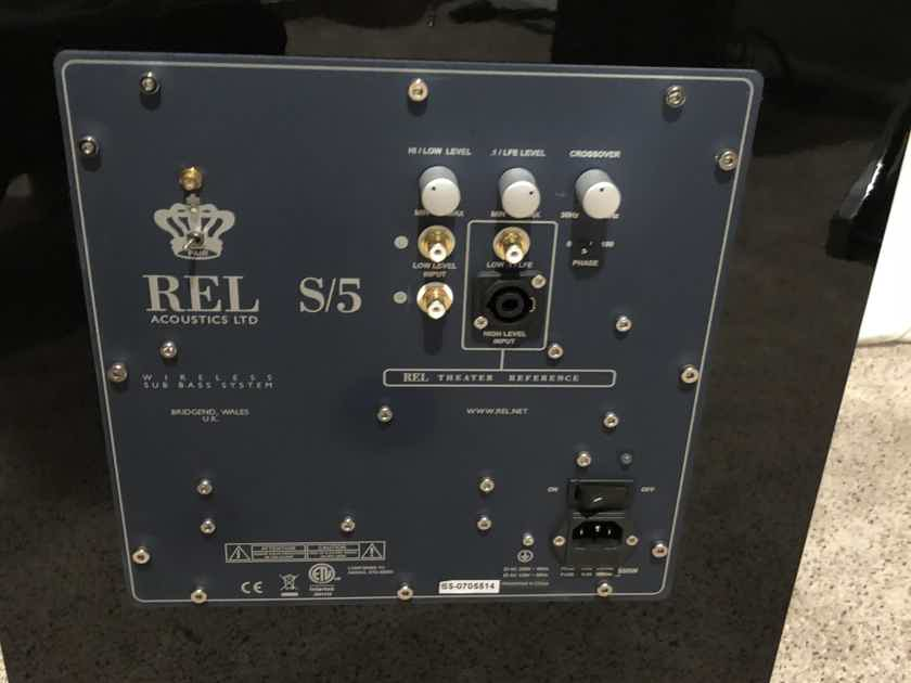 "REL S-5 12"" - Pair"