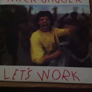 Mick Jagger - Lets Work/Catch As Catch Can Columbia Rec...