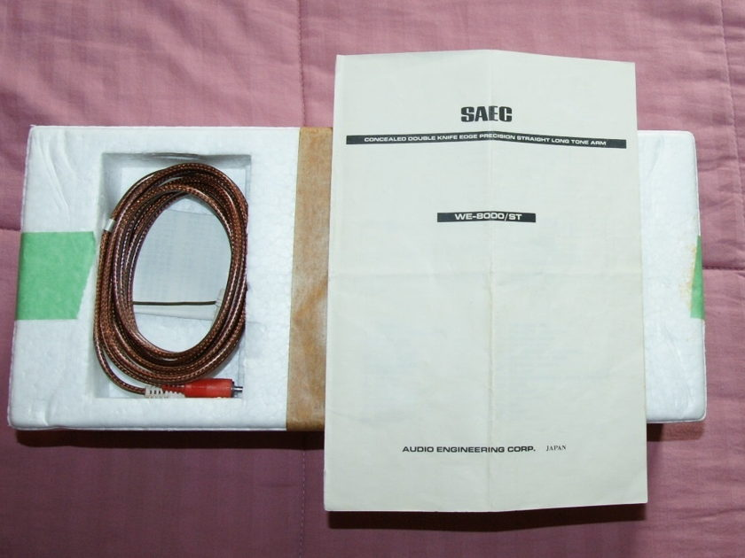 SAEC WE-8000/ST Tonearm