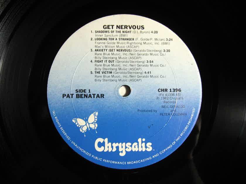 Pat Benatar - Get Nervous 1982 NM- Vinyl LP Chrysalis Records CHR 1396
