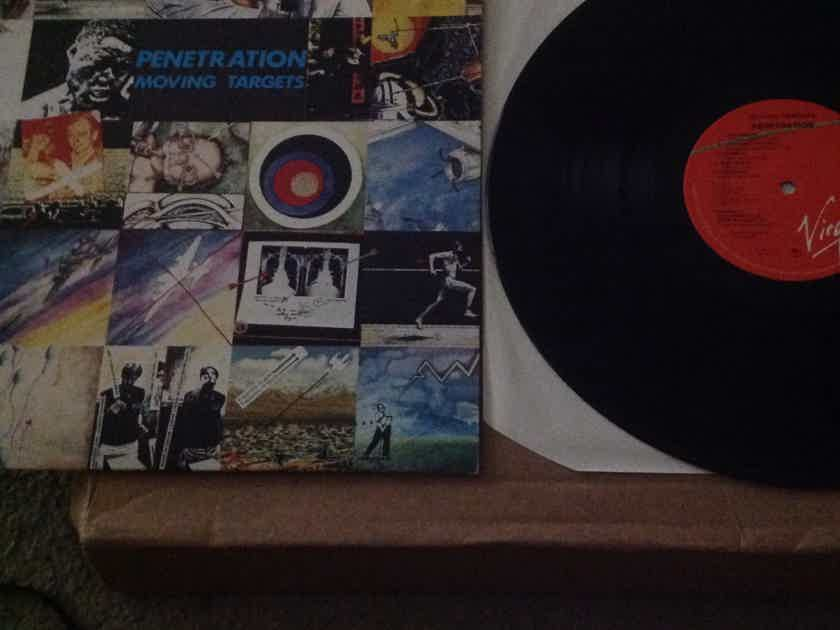 Penetration - Moving Targets Virgin Records  U.K. Vinyl  LP NM