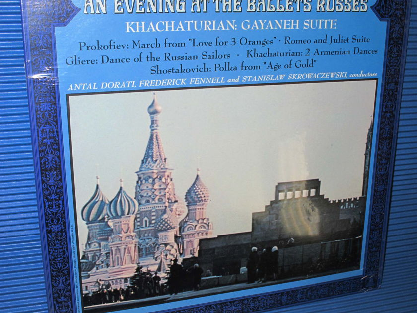 """KHACHATURIAN / PROKOFIEV / GLIERE / Dorati etc  - """"An Evening At The Ballets Russes"""" -  Mercury Wing 1968 SEALED"""