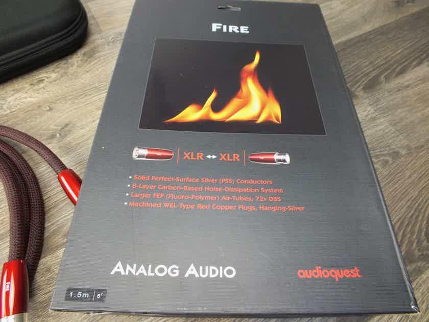 AudioQuest Fire interconnects XLR 1,5 metre