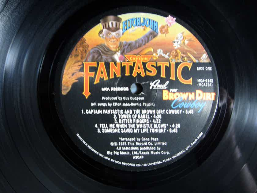 Elton John - Captain Fantastic And The Brown Dirt Cowboy - 1975 MCA Records MCA-2142