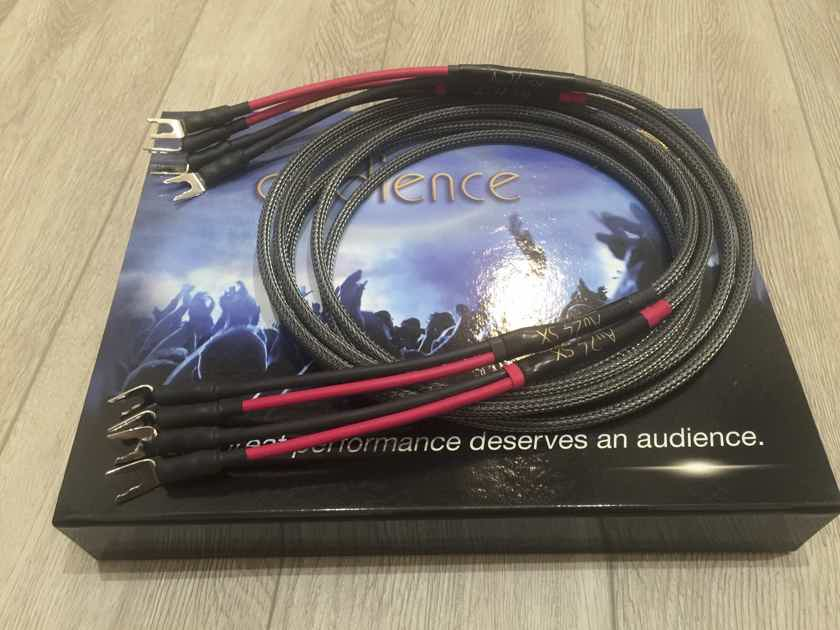 Audience Au24 SX Speaker Cables (2.5m)