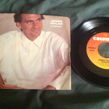 James Taylor Everyday Columbia Records 45 With Picture ...
