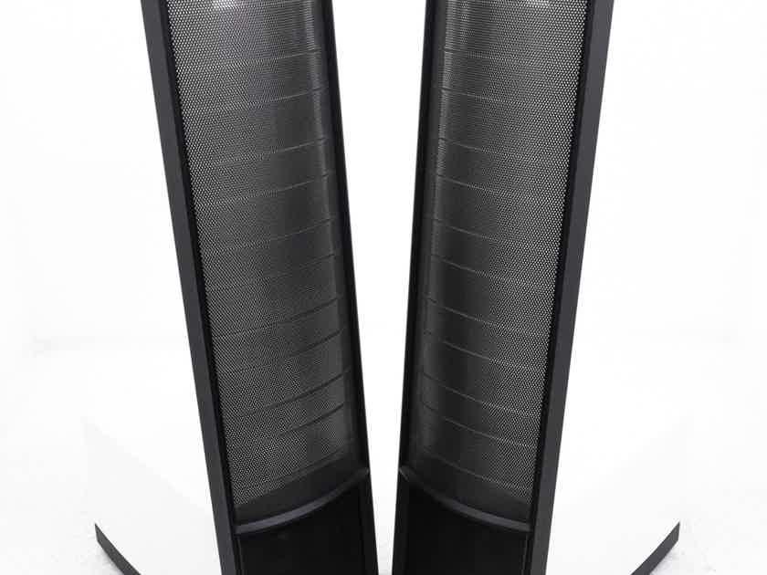 Martin Logan Expression ESL 13A Hybrid Electrostatic Speakers; Gloss White Pair (21612)
