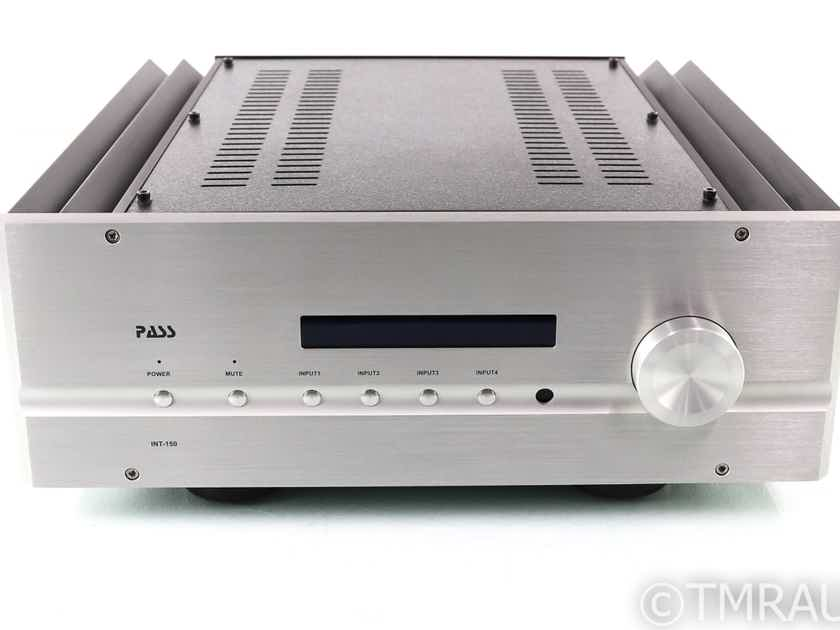 Pass Labs INT-150 Stereo Integrated Amplifier; INT150; Remote (28011)