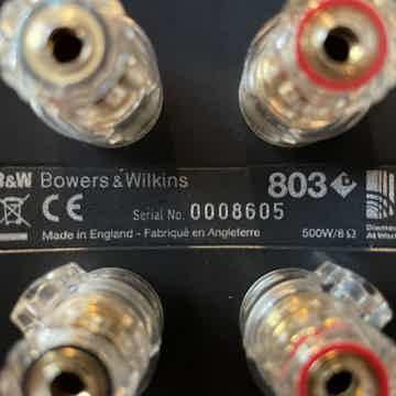 B&W (Bowers & Wilkins) 803 D1