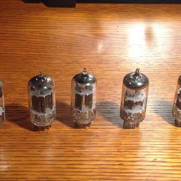 Group of 5 Tubes - Matsushita, HitachI, Zenith, Telefun...