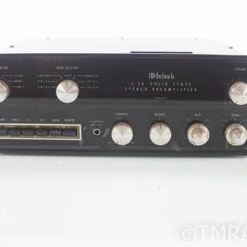 McIntosh C26 Vintage Stereo Preamplifier w/ Walnut Case