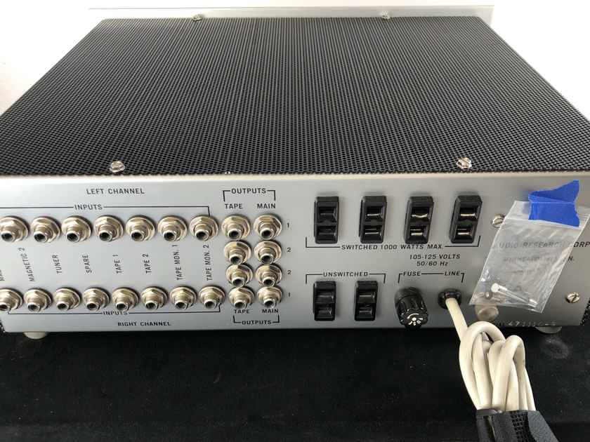 Audio Research SP-3 - VINTAGE ALL TUBE PREAMPLIFIER - COMPLETE COLLECTOR GRADE RESTORATION w/ Amperex Tubes