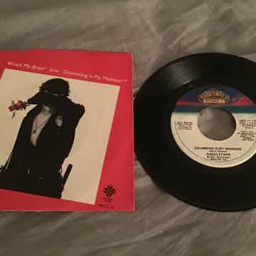 Ringo Starr  Wrack My Brain/Drumming Is My Madness 45 W...