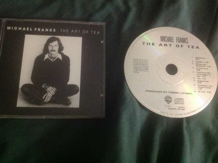Michael Franks - The Art Of Tea Reprise Records West Germany Compact Disc