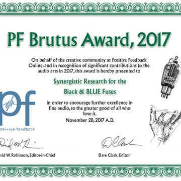 PFO's Brutus Award 2017