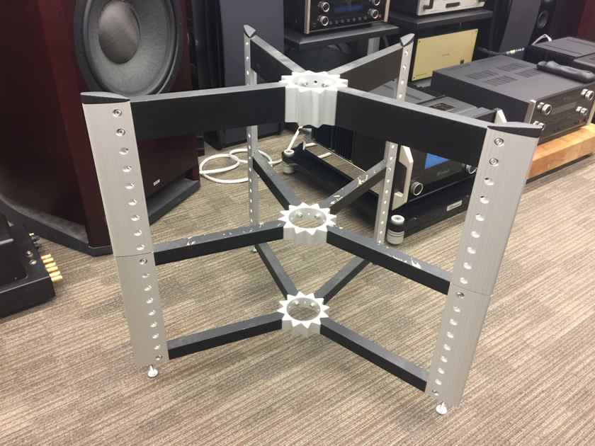 Spider Audio Stand / Rack Black & Silver  ..................near San Francisco, CA